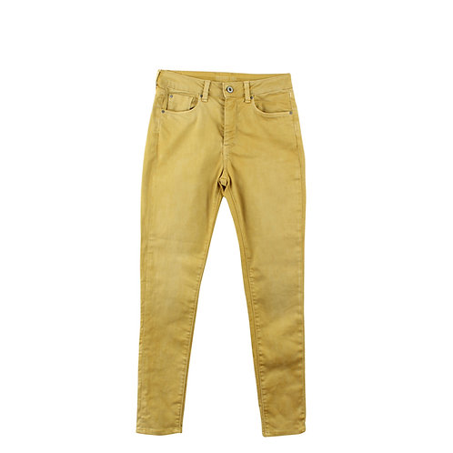 S | Pepe Jeans סקיני חרדל
