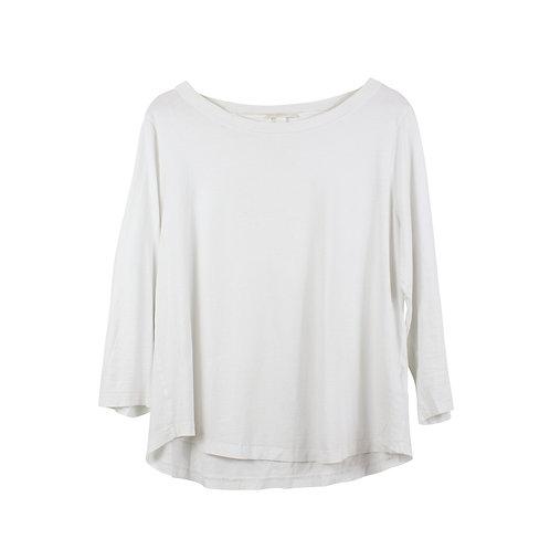 L | COS חולצת טי לבנה
