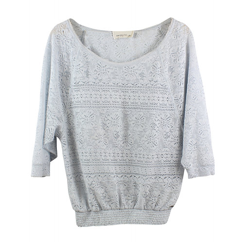 S | Abercrombie & Fitch חולצת תחרה