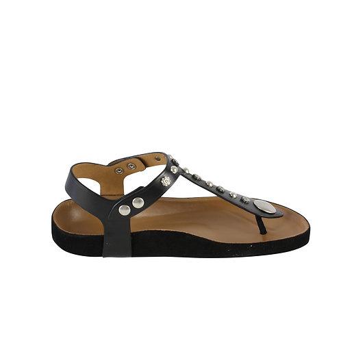 37 | ISABEL MARANT studded T-bar sandals