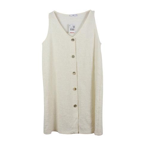 M | MANGO שמלה מכופתרת