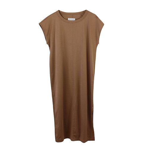 M | EVERLANE שמלת מידי חומה
