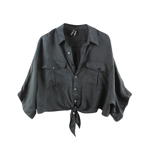 XL | ZARA חולצת קשירה ליוסיל