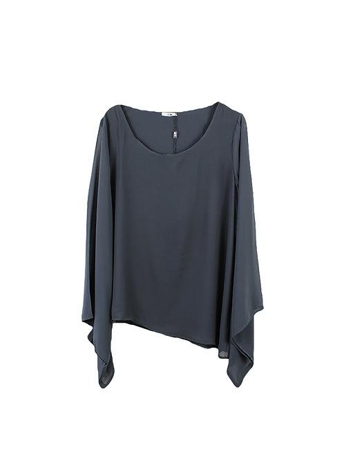 L | חולצת שיפון עטלף