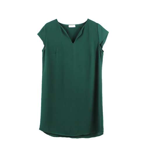 M | MOMA שמלת לורן ירוק בקבוק