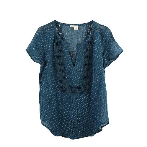 S/M | ANTROPOLOGY חולצת משי