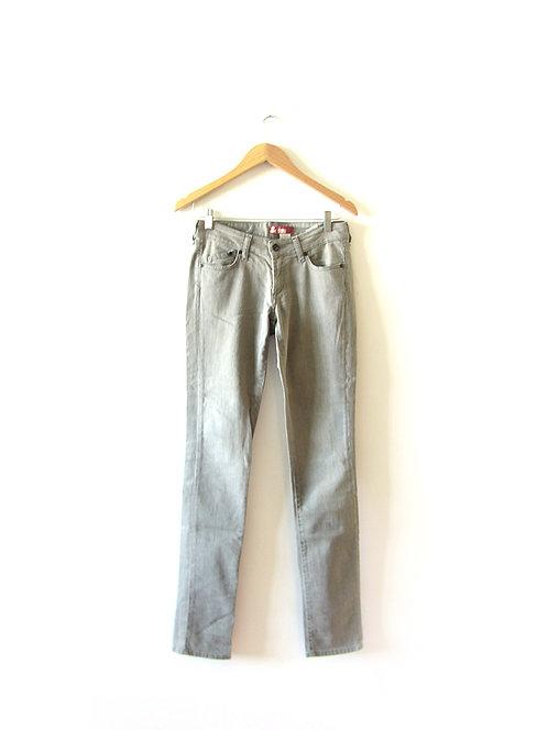 ג'ינס סקיני אפור מידה 26