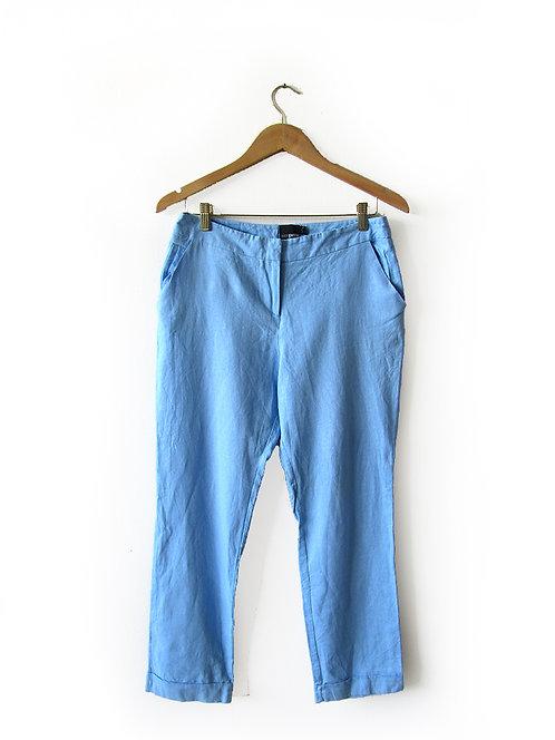 מכנסיים בצבע תכלת מידה 40