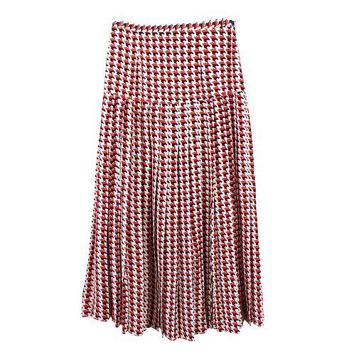 L | RIXO חצאית מקסי משי