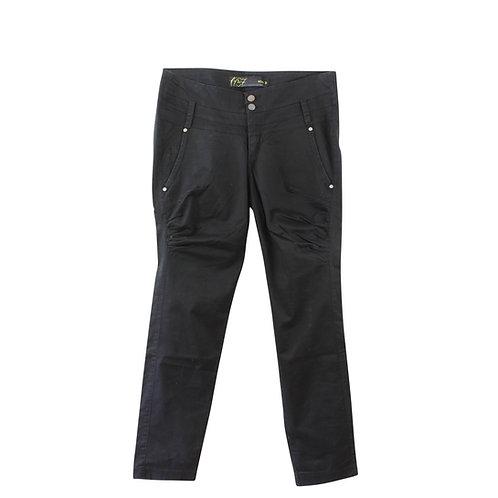 L   1937 מכנסי שק בצבע שחור