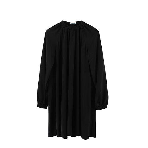 M | AVIVA ZILBERMAN שמלת מידי כיווצים