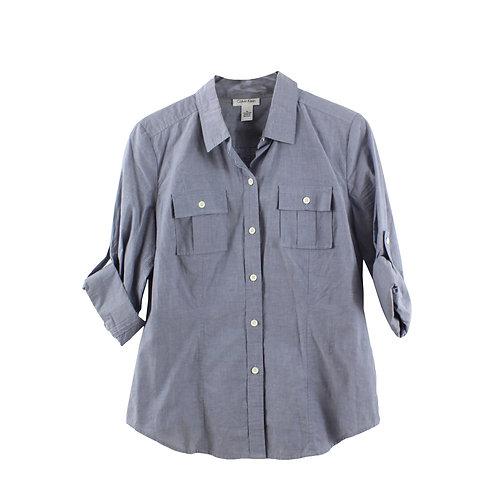 M | Calvin Klein חולצה מכופתרת ג׳ינסית