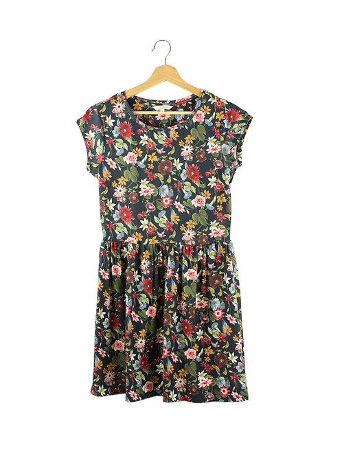 S/M שמלה פרחונית