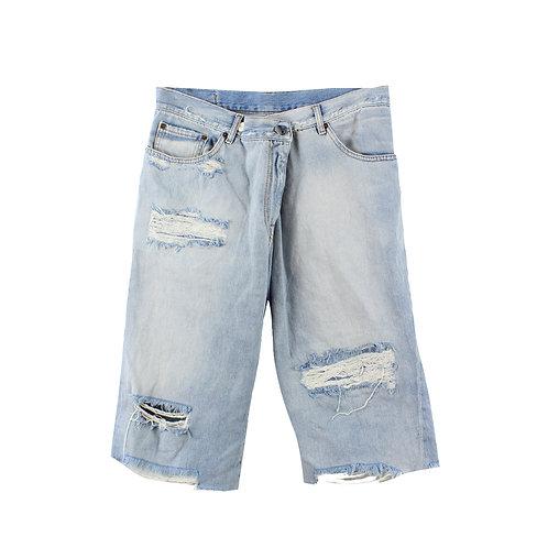 L | Maison Margiela ג׳ינסים ברך אוברסייז