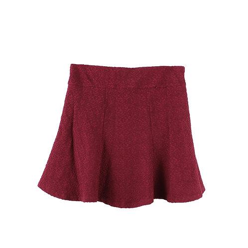 M/L   H&M חצאית בורדו