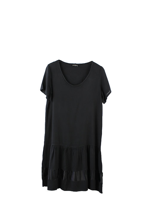 ARTWEAR  שמלת מידי שחורה   M