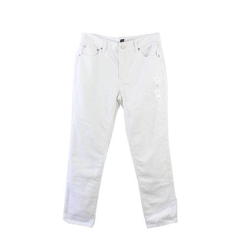 M   GAP ג׳ינס גירלפרנד לבן חדש