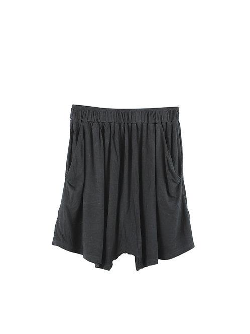 S | anjaly  מכנסי בד קצרים