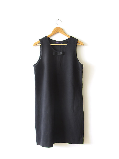 שמלה חורפית שחורה מידה 42