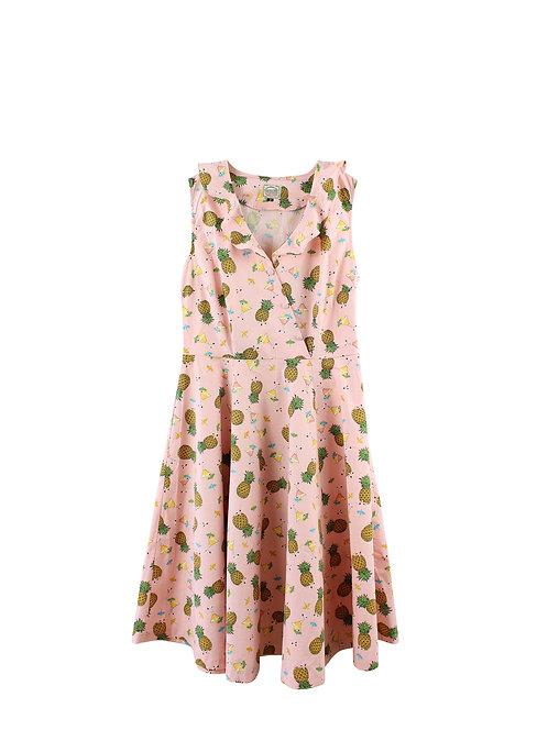 M | BANNED שמלת סרפן אננס
