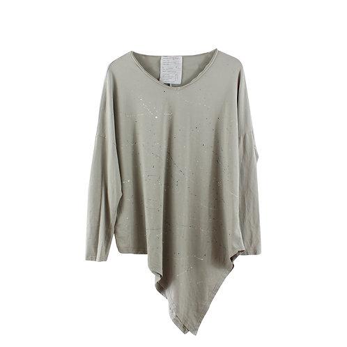 M\L | DANA ASHKENAZI  חולצת בטון א סימטרית
