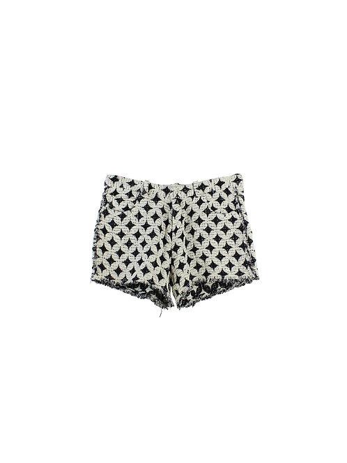 42 | IRO מכנסיים קצרים שחור-לבן