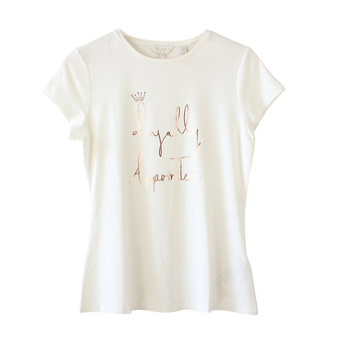 S   Ted Baker 'Royally Appointed' T-shirt