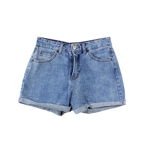 XS | PULL & BEAR  מכנסי ג׳ינס קצרים