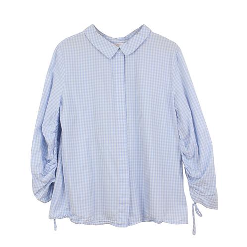 M | ZARA חולצה מכופתרת משבצות