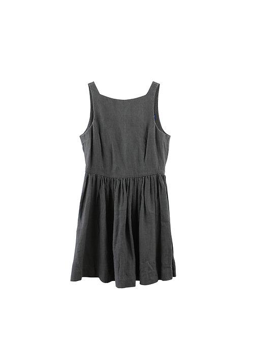 L | American Apparel שמלת פשתן