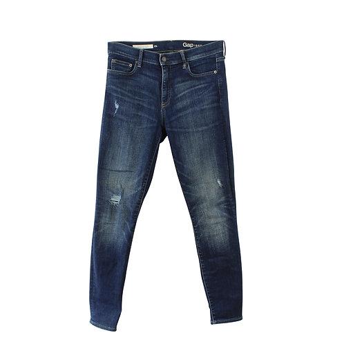 M | GAP סקיני ג׳ינס כחול