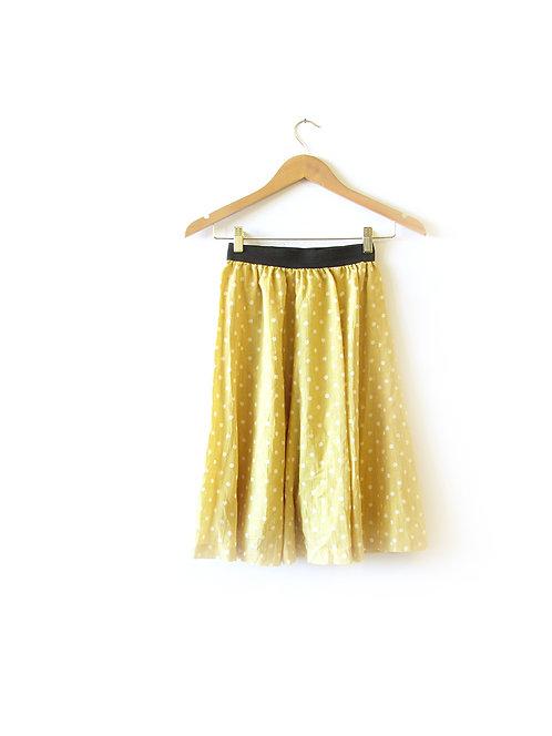 S חצאית צהובה מידה