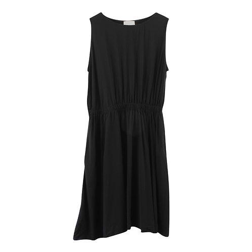 M | LIAH שמלה שחורה עם כיסים