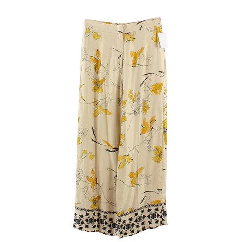 S | H&M מכנסיים רחבים מודפסים
