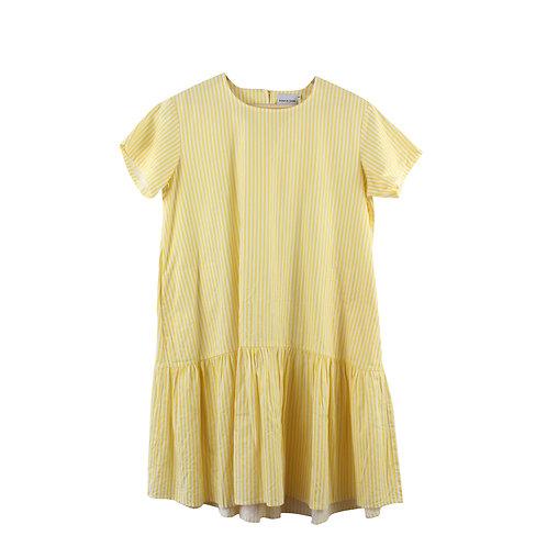 OS | ROTEM & HADAS שמלת פסים צהובה