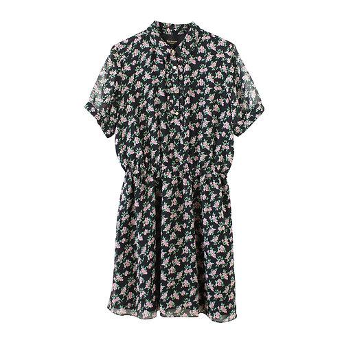 L | JUICY COUTURE שמלה פרחונית