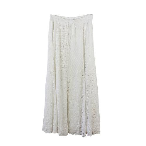 M | ZARA  חצאית בוהו מקסי
