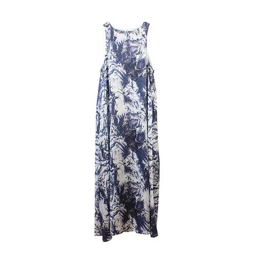 M | שמלת מקסי מתרחבת
