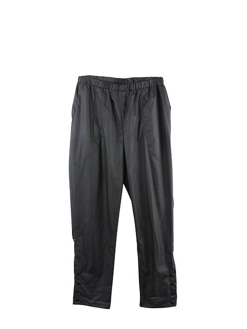 M | MARIA BERMAN מכנסי ניילון עם כיסים