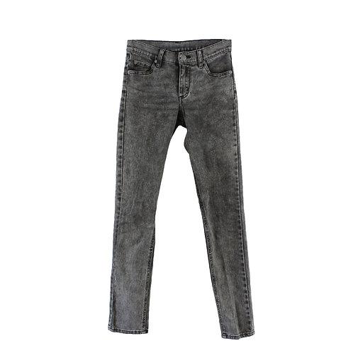 S | CHEAP MONDAY ג׳ינס סקיני אפור ווש