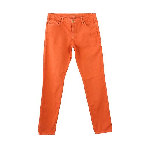 M | MICHAEL KORS ג׳ינס  סקיני כתום