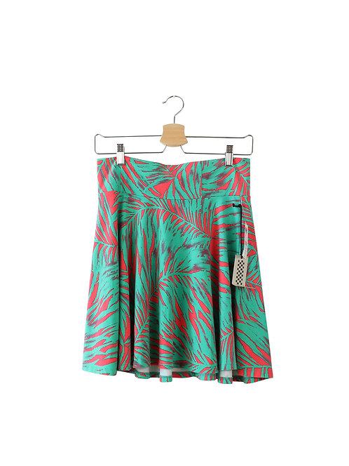 L חצאית קצרה פרחוני חדשה