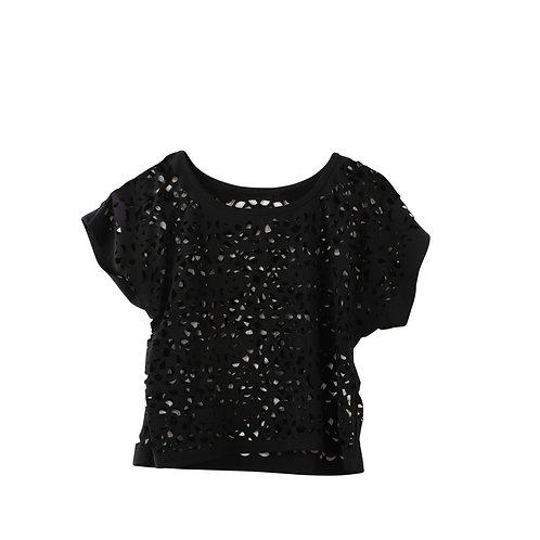 S/M   חולצת טופ חיתוכים
