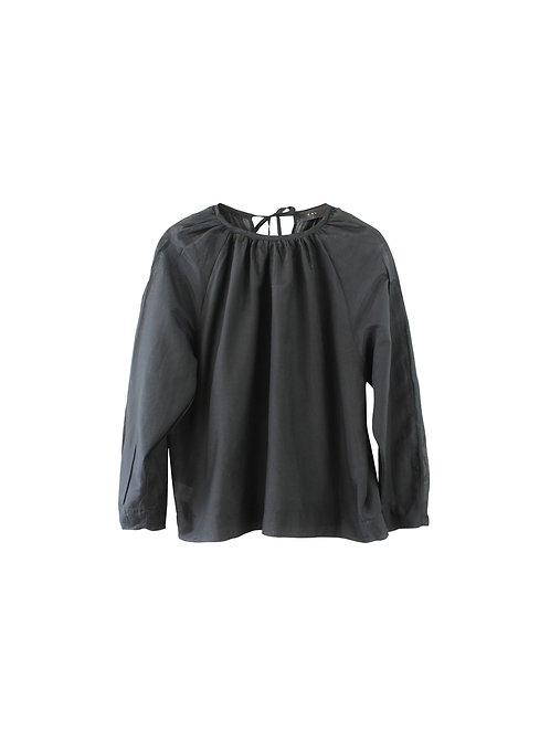 M | KAV חולצת משי וכותנה