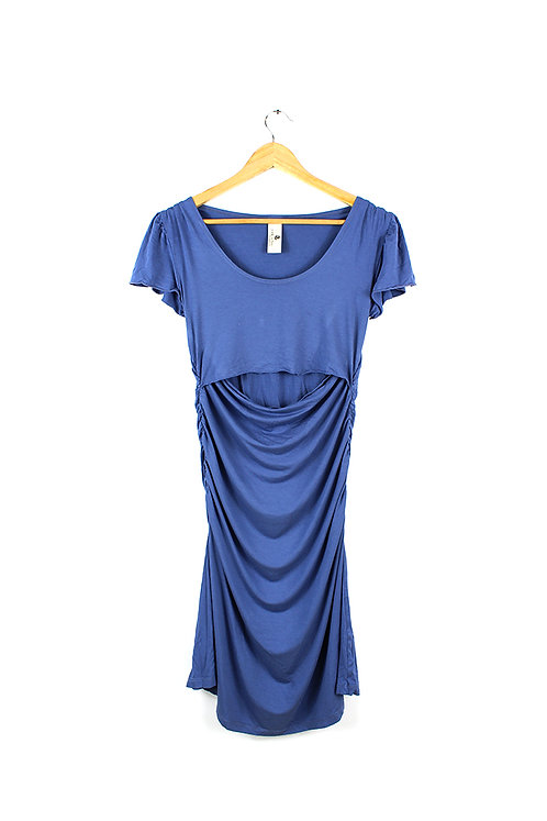 M שמלה צמודה להריון והנקה