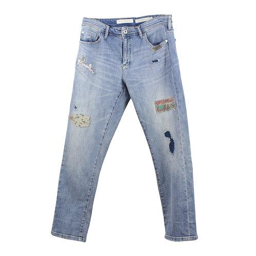 L | Pilcro and the Letterpress Slim Boyfriend Jeans