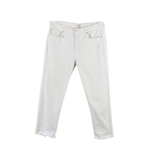 L |  MANGO ג׳ינס לבן בויפרנד