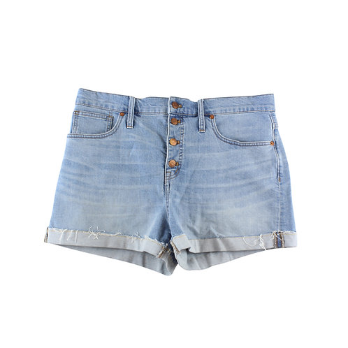 L   madewell ג׳ינס קצרים