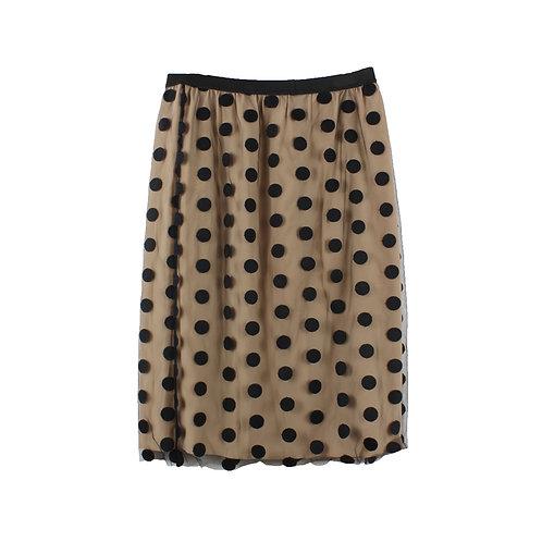 M/L | STELLA McCARTNEY חצאית נקודות