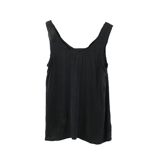 M | American Vintage גופיית ויסקוזה שחורה